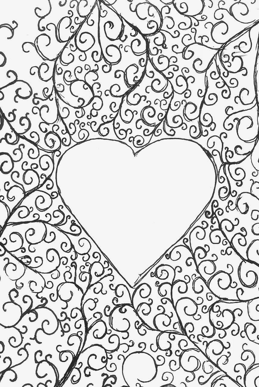 heart color pages heart coloring pages coloringrocks color heart pages