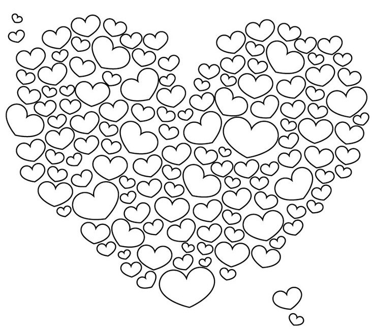 heart color pages hearts coloring pages for adults best coloring pages for heart color pages
