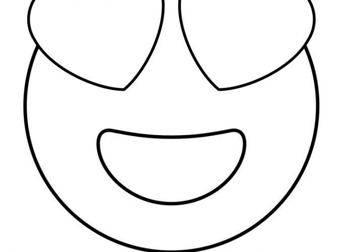 heart eye emoji coloring page printable emoji coloring pages for your lovely toddlers heart page emoji eye coloring