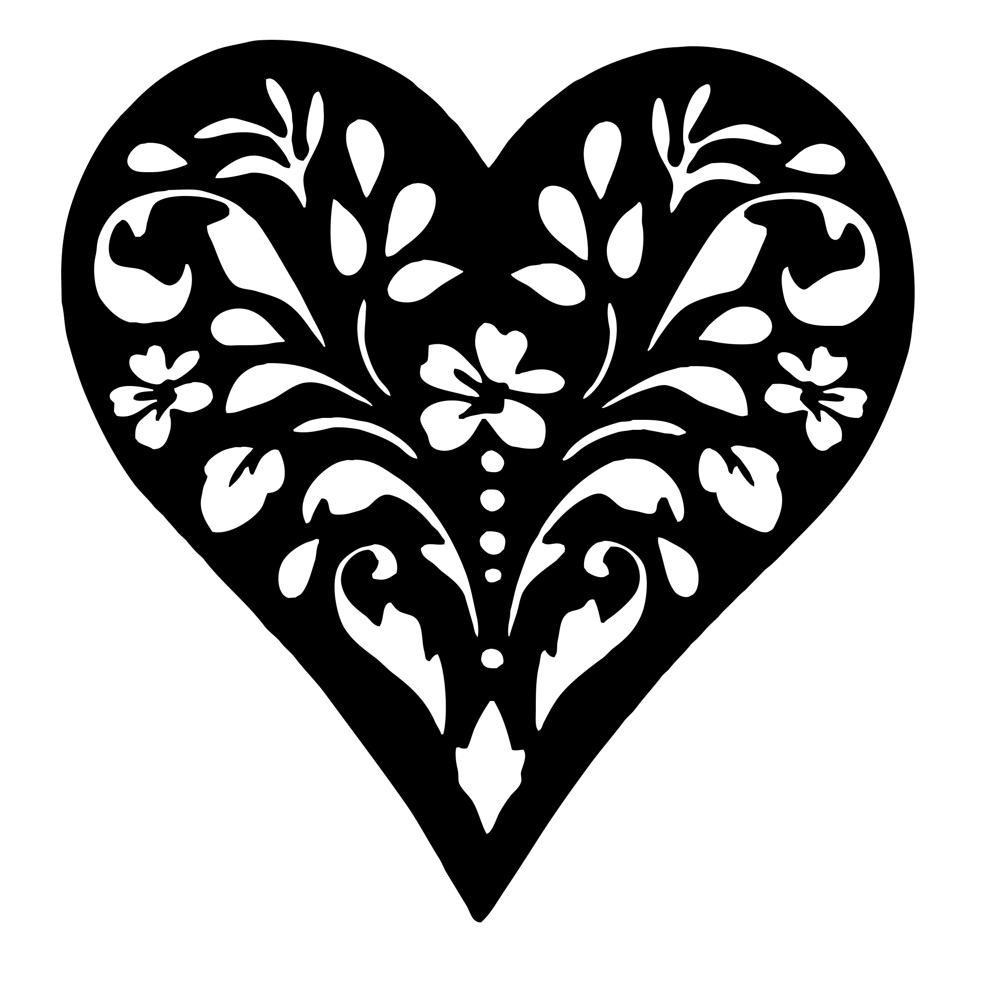 heart printable free printable heart coloring pages for kids printable heart