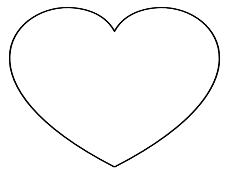 heart printable free printable heart coloring pages for kids printable heart 1 1