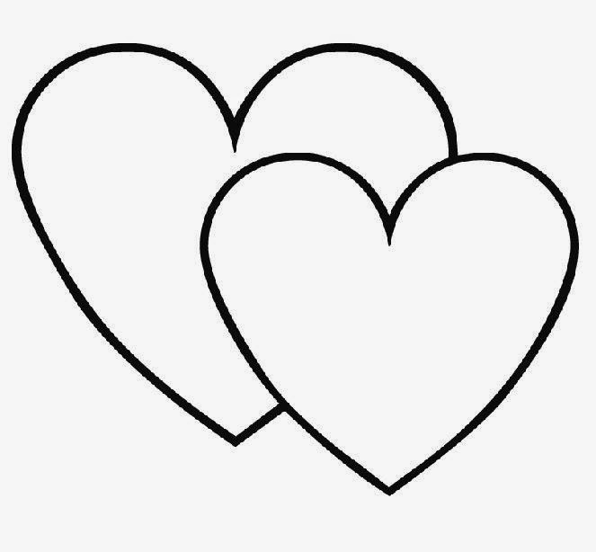 heart shape for coloring free printable heart shapes coloring home shape heart coloring for