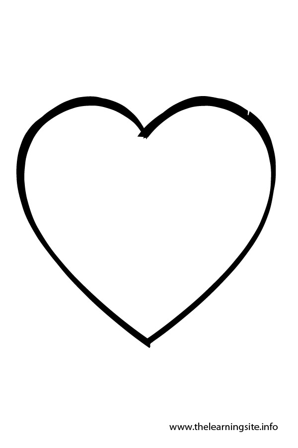heart shape for coloring heart shaped coloring pages tryonshortscom shape for heart shape coloring