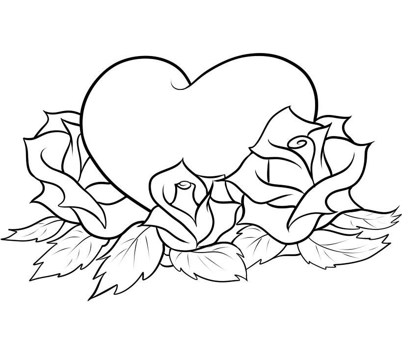 heart to color free printable heart coloring pages for kids color to heart 1 1