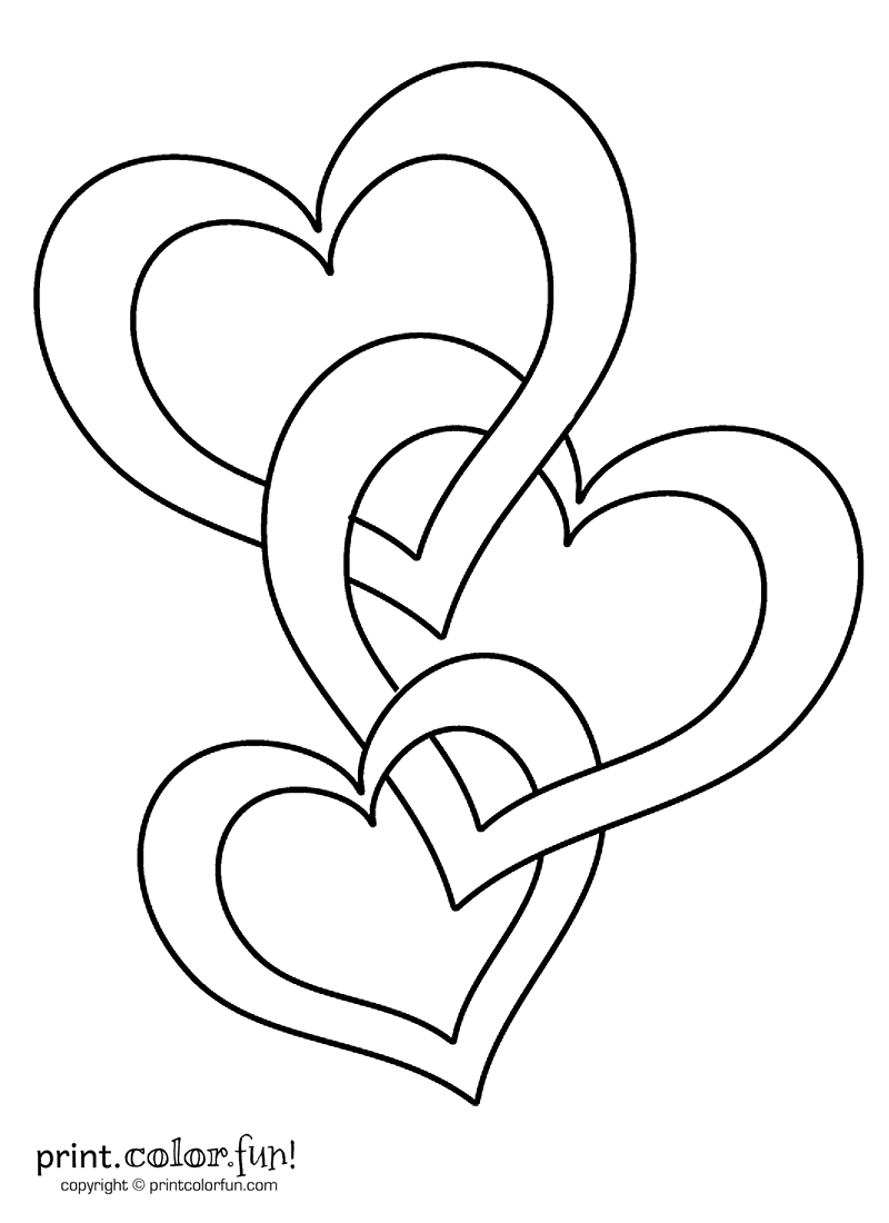 heart to color free printable heart coloring pages for kids heart to color