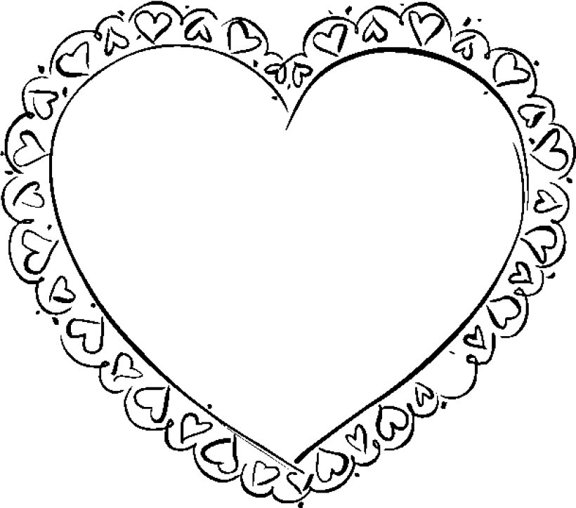 heart to color heart and key coloring pages at getcoloringscom free color heart to
