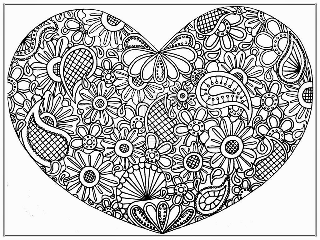 heart to color hearts 08 coloring page free valentine39s day coloring to color heart