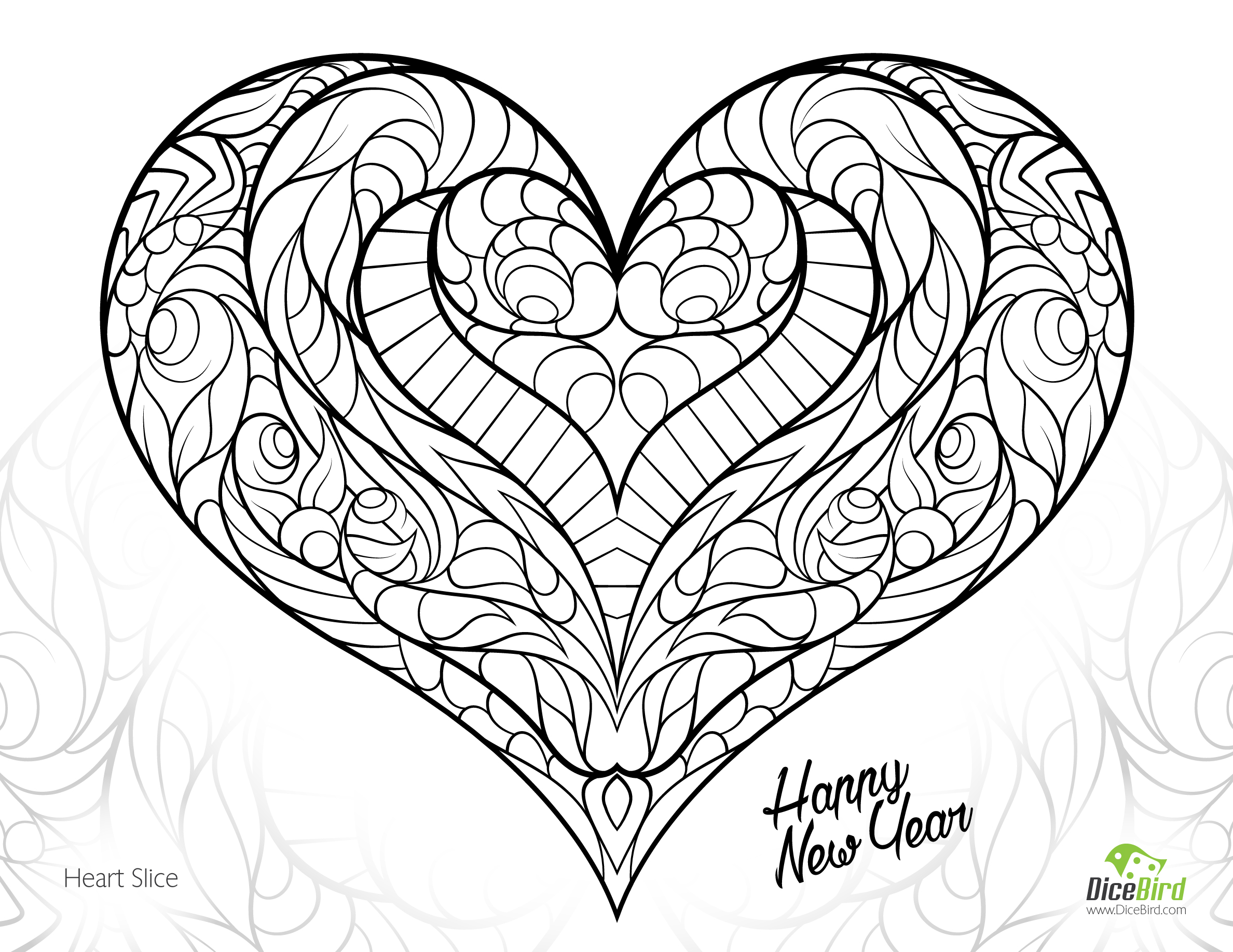 heart to color pictures of hearts to print coloring home color heart to
