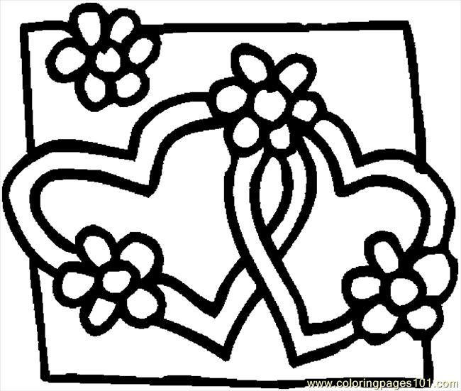 heart to color valentines day coloring pages for adults best coloring color to heart