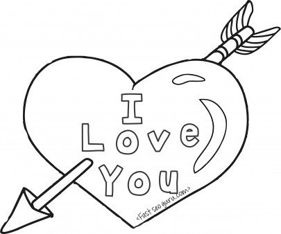 heart with arrow coloring pages heart with arrow drawing at getdrawings free download with arrow heart pages coloring