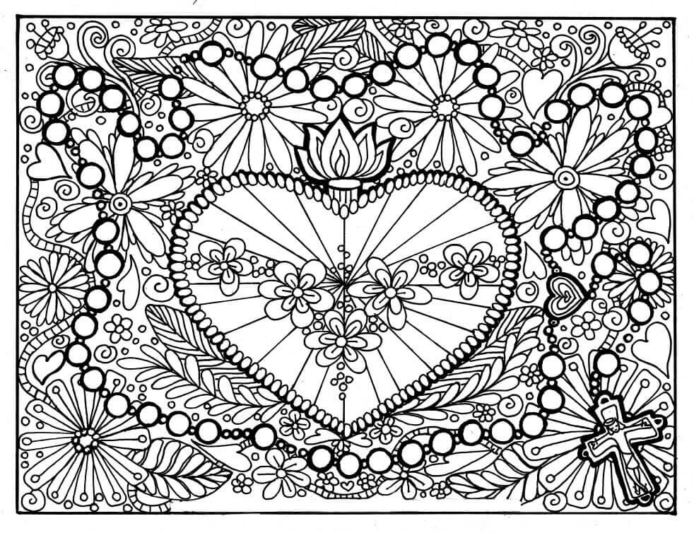 hearts printable coloring pages free 25 coloring pages in ai pdf printable coloring hearts pages