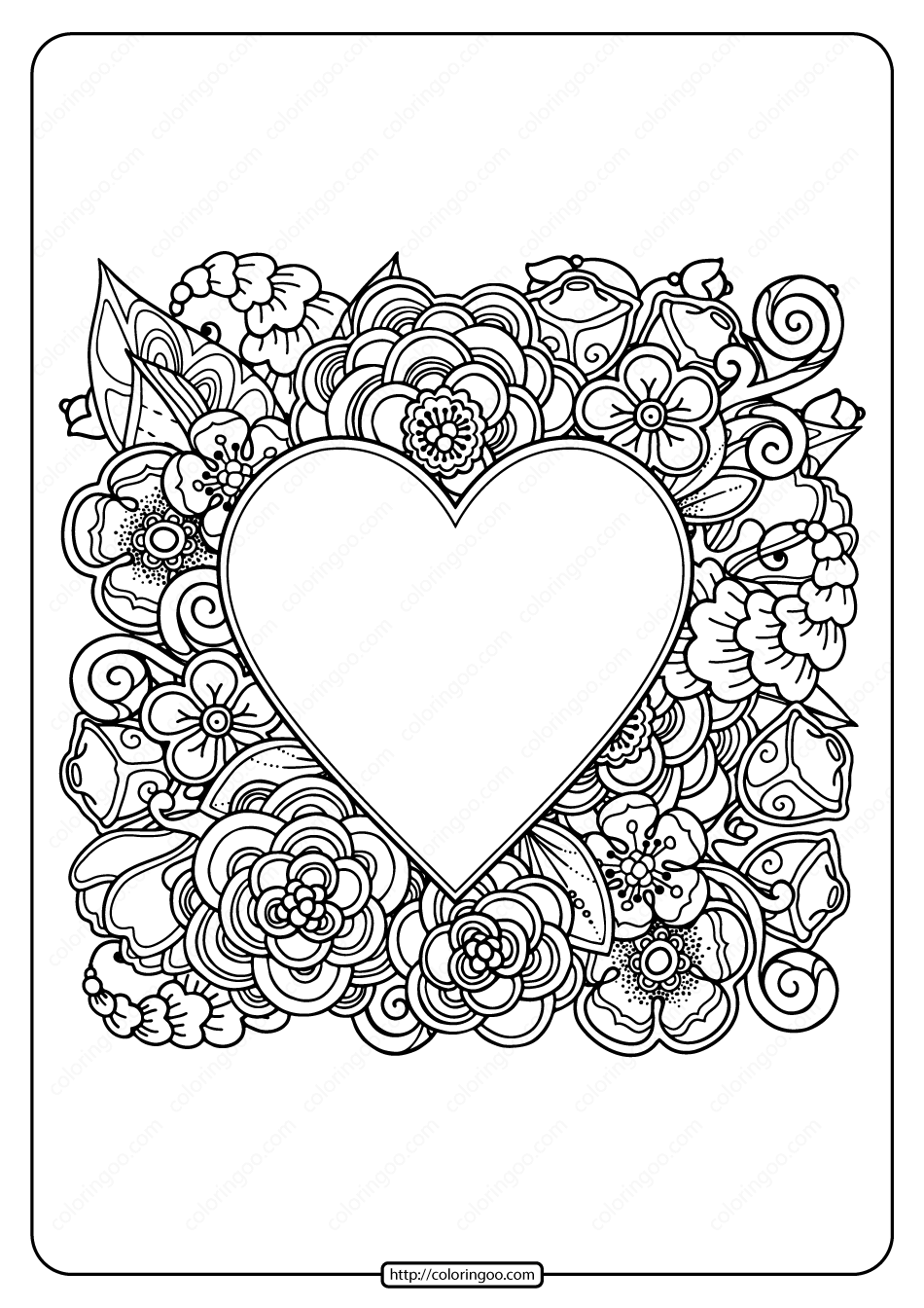 hearts printable coloring pages hearts coloring pages getcoloringpagescom pages coloring printable hearts