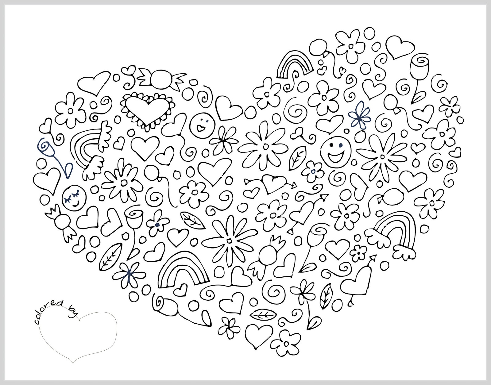 hearts printable coloring pages hearts coloring pages valentine hearts kids zone at printable hearts coloring pages