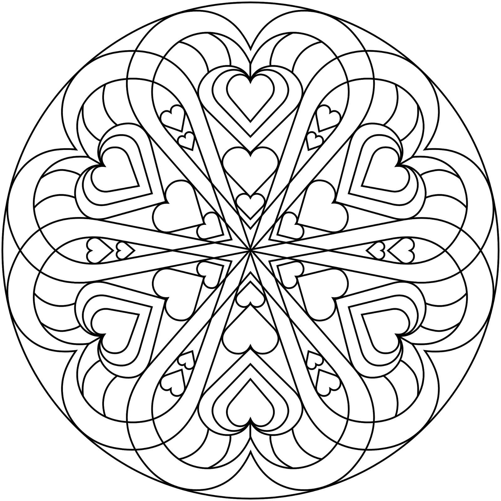 hearts printable coloring pages valentines day coloring pages for adults best coloring coloring hearts printable pages