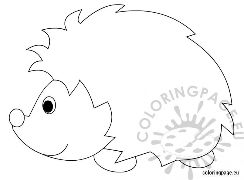 hedgehog pictures to color hedgehogs free printable coloring and activity page for color pictures to hedgehog