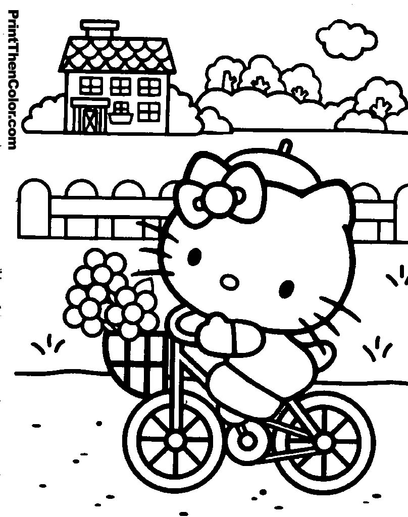 hello kitty and friends coloring pages cutecoloringcom cute coloring pictures pages and hello kitty friends coloring