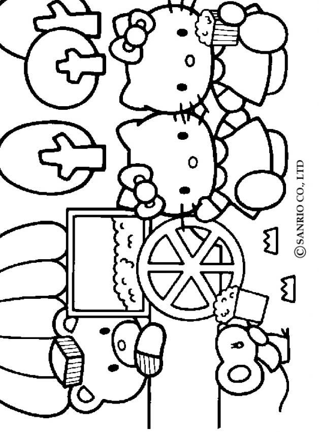 hello kitty and friends coloring pages hello kitty and friends 3 coloring page coloring hello friends pages and kitty