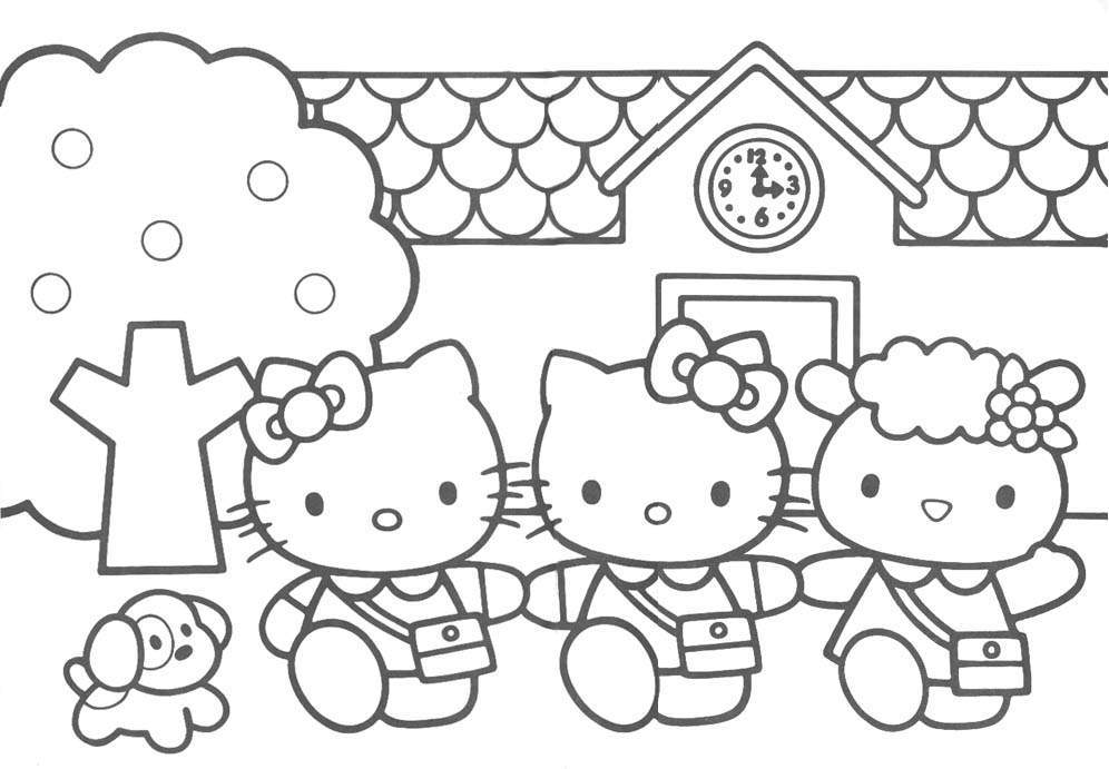 hello kitty and friends coloring pages hello kitty and friends coloring pages coloring home friends and hello pages coloring kitty