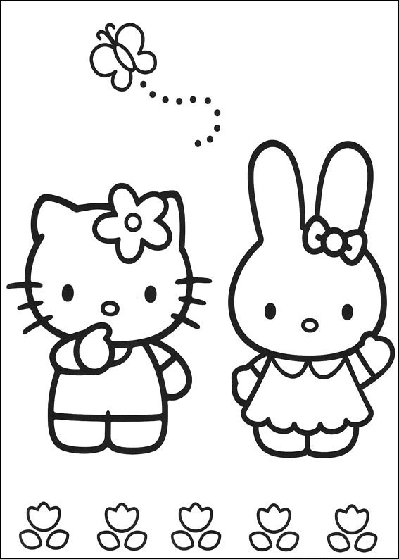 hello kitty and friends coloring pages hellokids com coloring pages awesome hello kitty and kitty and friends pages hello coloring