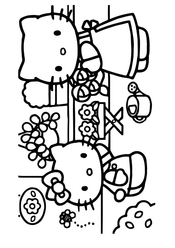 hello kitty and friends coloring pages top hello kitty coloring pages games top free printable pages and friends hello kitty coloring