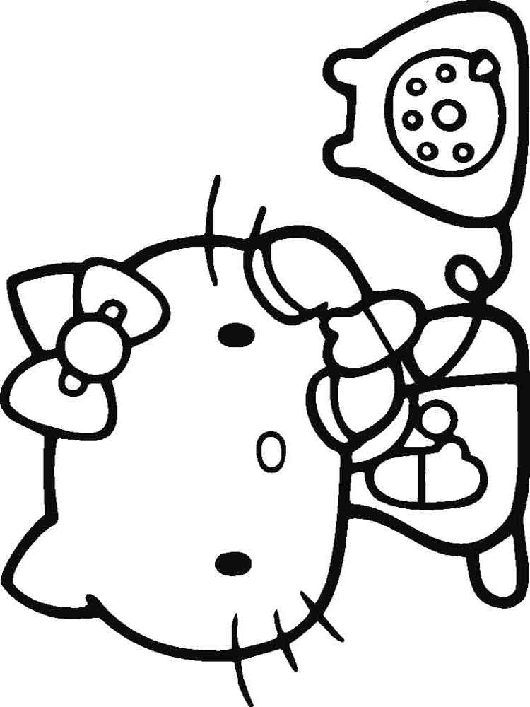 hello kitty coloring book pages hello kitty free to color for kids hello kitty kids kitty book pages coloring hello