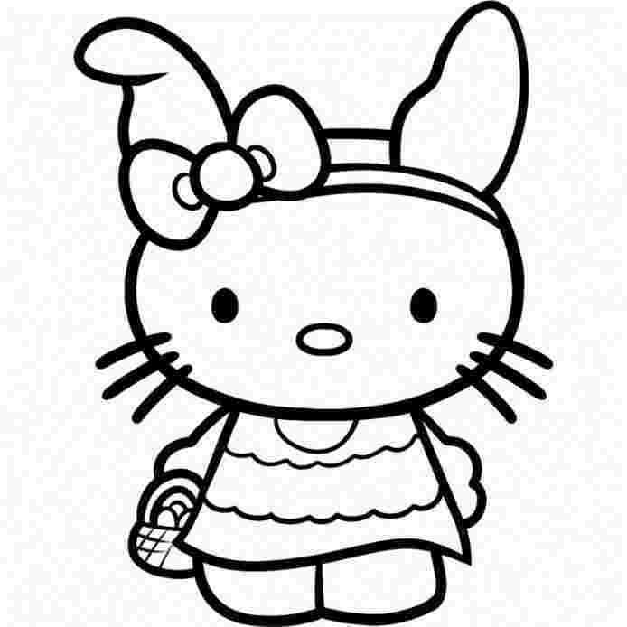 hello kitty pictures for coloring hello kitty rainbow coloring page free printable lusine coloring pictures hello for kitty