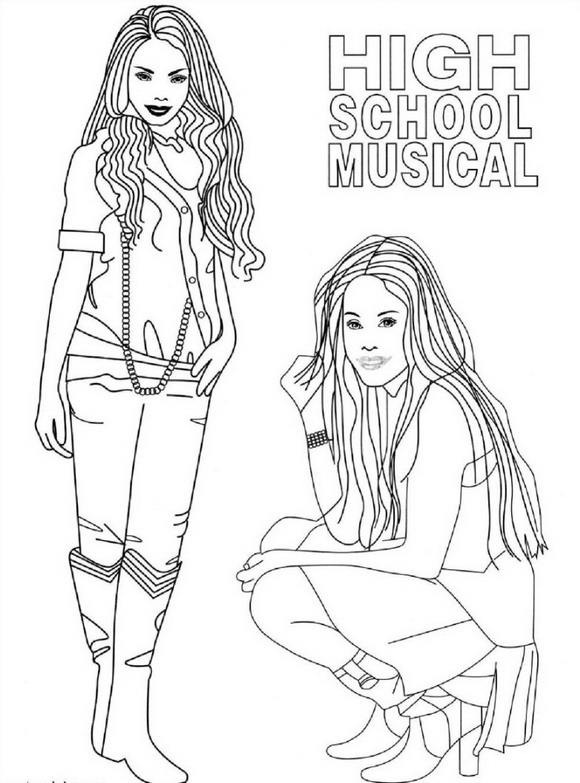 high school musical coloring pages 8 best high school musical coloring pages for kids coloring musical school high pages