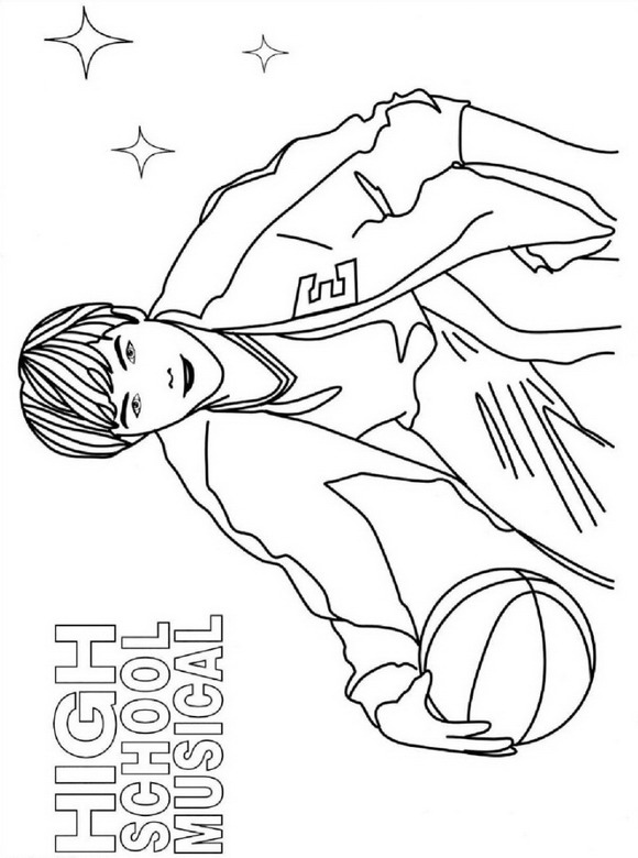high school musical coloring pages free printable high school musical coloring pages coloring musical pages school high