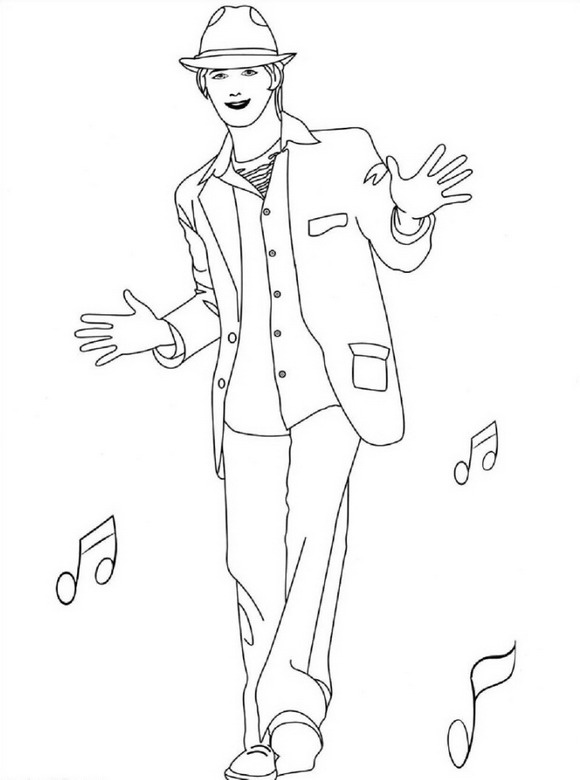 high school musical coloring pages high school musical characters taylor mckessie coloring school coloring high musical pages