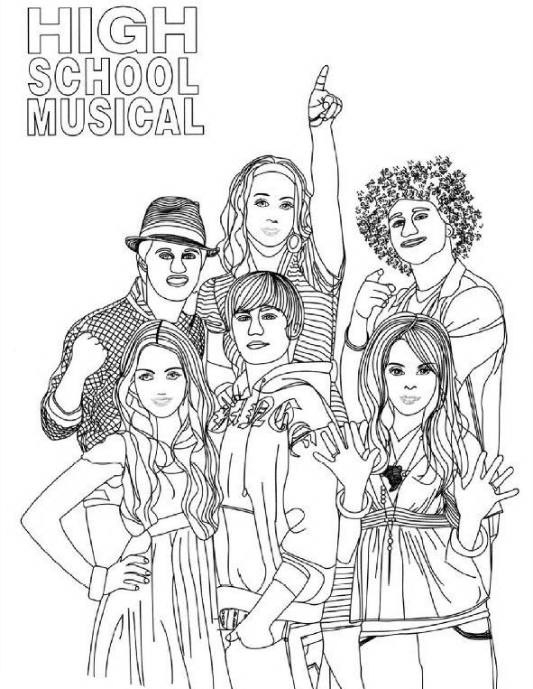 high school musical coloring pages high school musical educational fun kids coloring pages pages coloring musical high school
