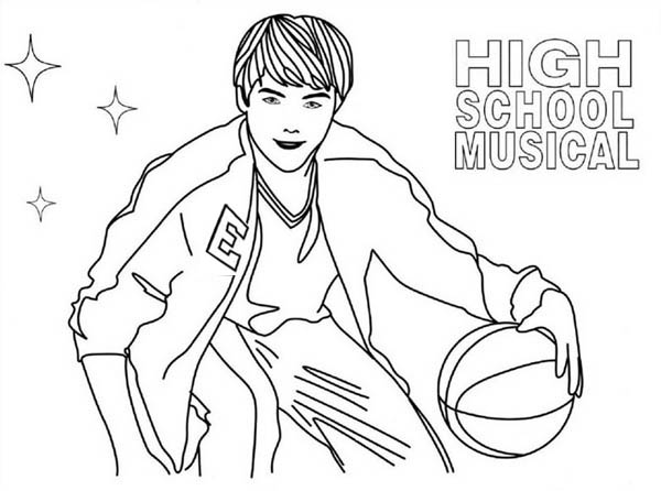 high school musical coloring pages the beautiful sharpay evans from high school musical high school musical pages coloring