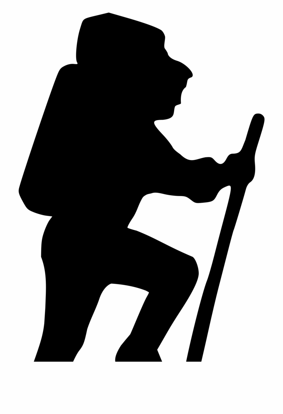 hiking silhouette 10 hiker silhouette png transparent onlygfxcom silhouette hiking 1 1