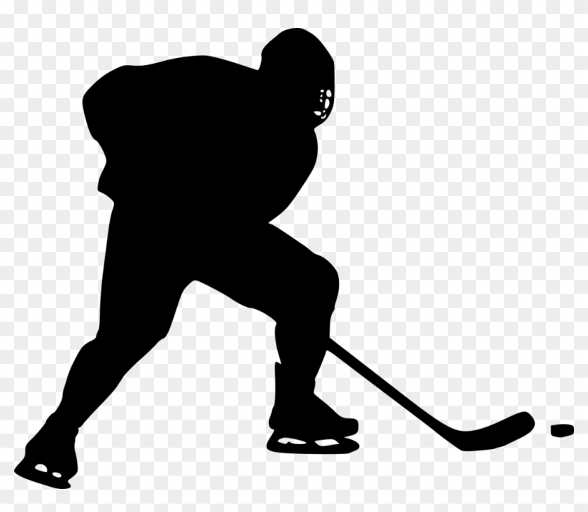 hockey player silhouette hockey player silhouette clipart at getdrawings free player silhouette hockey
