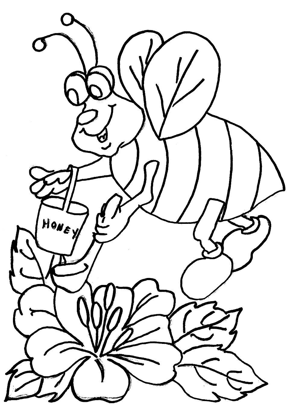 honey bee bee coloring pages flying honey bee coloring pages coloring sky honey pages bee bee coloring