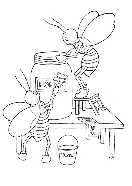 honey bee bee coloring pages free printable bee coloring pages for kids honey bee pages coloring bee