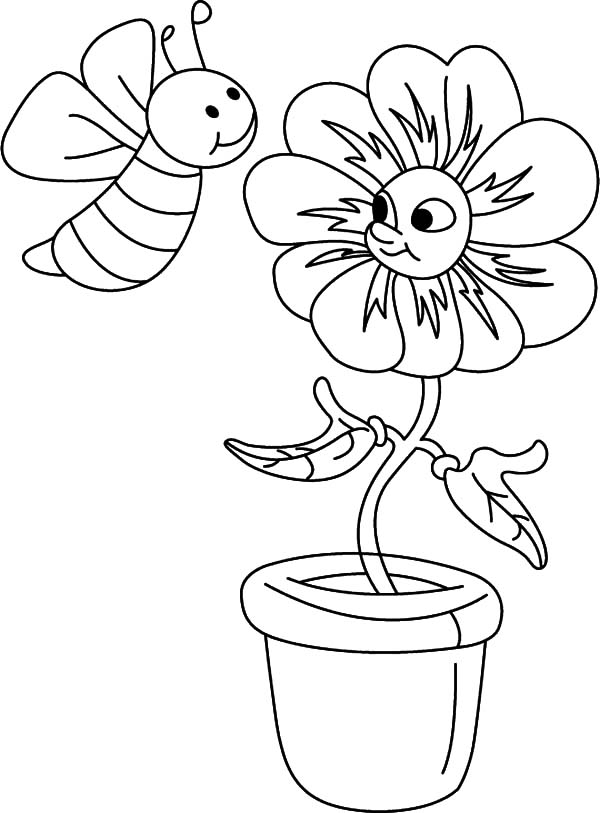 honey bee bee coloring pages honey bee collecting honey sweet coloring pages download pages bee bee honey coloring