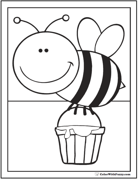 honey bee bee coloring pages honey bee collecting pollen coloring pages coloring sky pages honey coloring bee bee