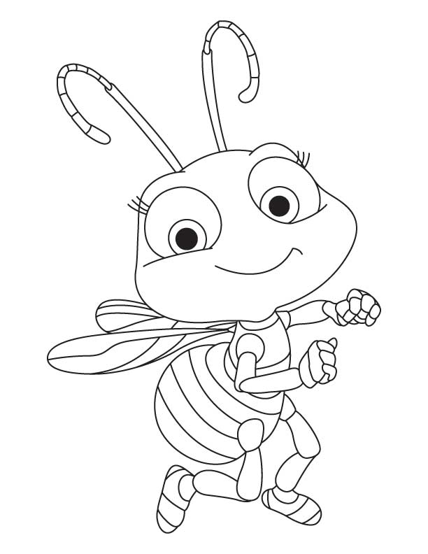 honey bee bee coloring pages small printable bee coloring pages coloring home coloring bee bee honey pages