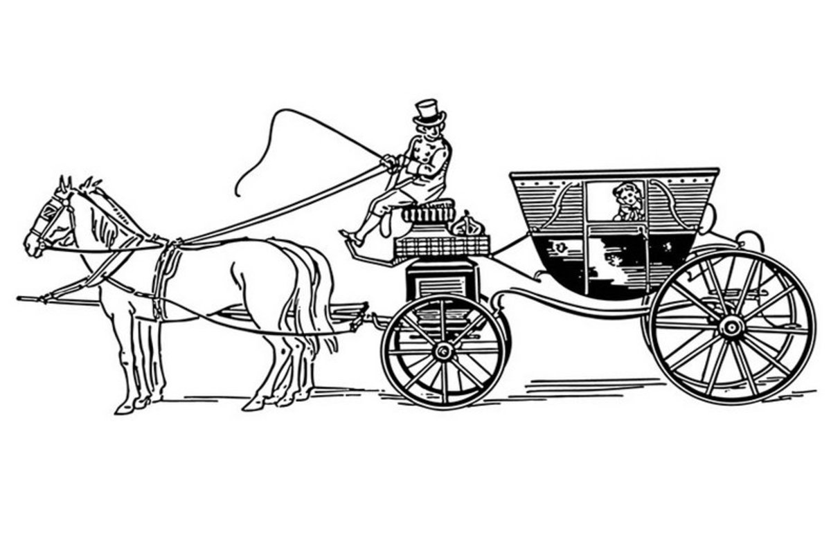 horse and carriage coloring pages horse and cart coloring pages kidsuki and coloring horse carriage pages