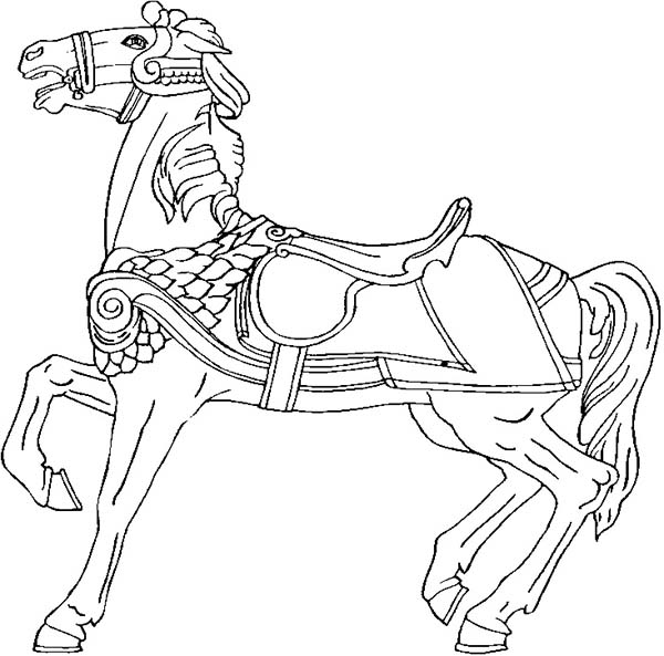 horse coloring image amazing war horse in horses coloring page download horse coloring image