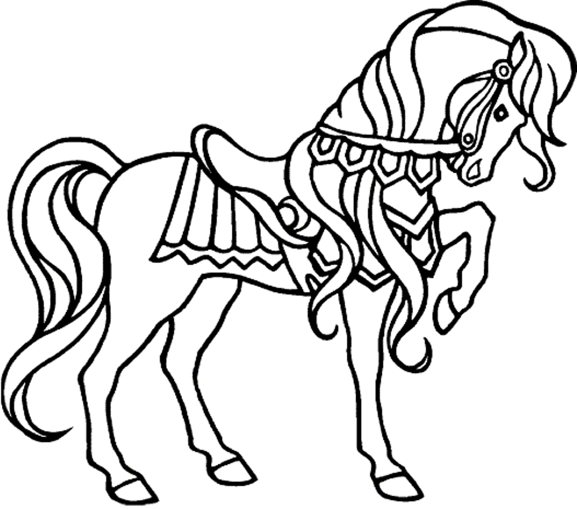 horse drawing coloring pages free and printable horse coloring pages 101 coloring horse drawing coloring pages
