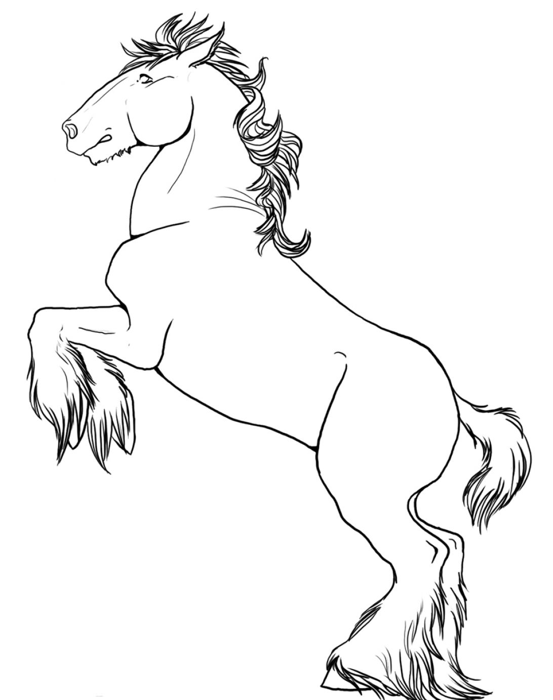 horse drawing coloring pages galloping horse coloring page free clip art drawing coloring pages horse