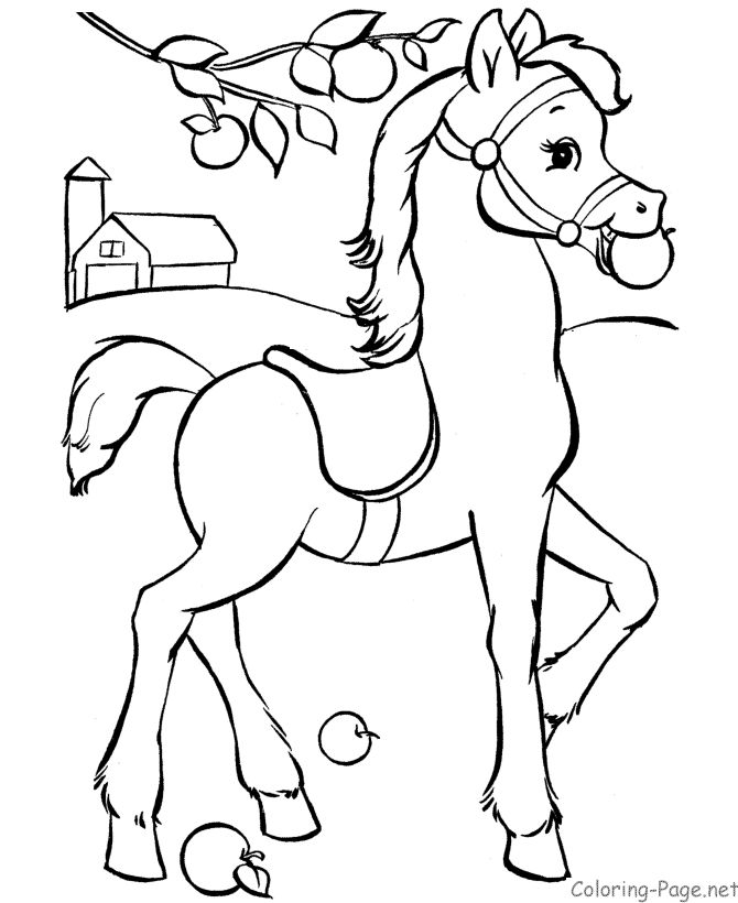 horse drawing coloring pages kid horse drawing at getdrawings free download drawing horse coloring pages
