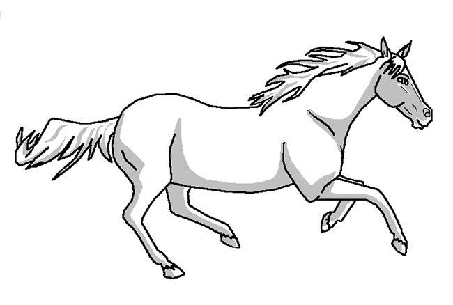 horse pictures to print out cute cartoon horse coloring pages get coloring pages horse to out print pictures