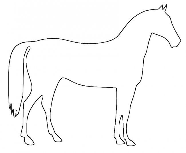 horse pictures to print out horse template childs play pinterest patterns horse to horse out print pictures