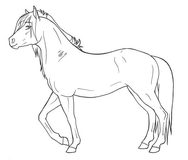 horse pictures to print out onlinelabels clip art walking horse outline out horse pictures print to