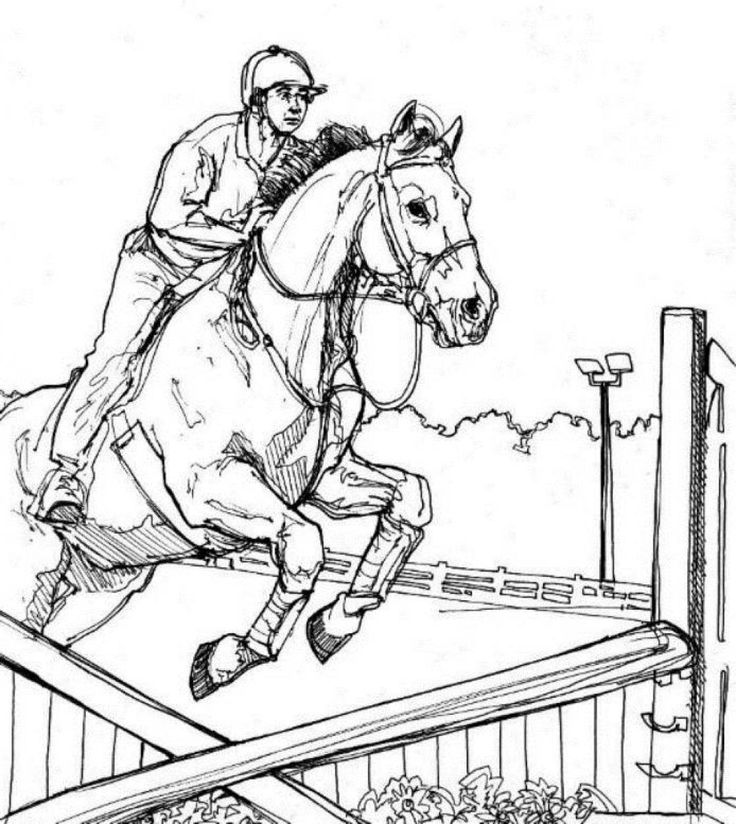 horse show jumping coloring pages 17 best images about color horses competition on jumping pages coloring show horse