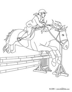 horse show jumping coloring pages ausmalbilder pferde springreiten ausmalbilder pferde coloring show horse jumping pages