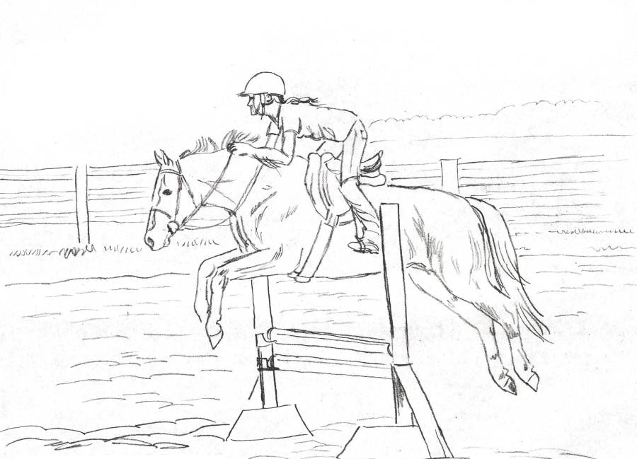 horse show jumping coloring pages horse jumping coloring page woo jr kids activities coloring horse jumping pages show
