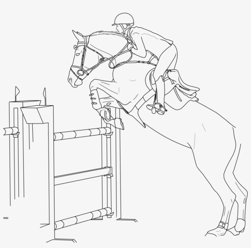 horse show jumping coloring pages horses show jumping colouring pages clip art library jumping pages show horse coloring